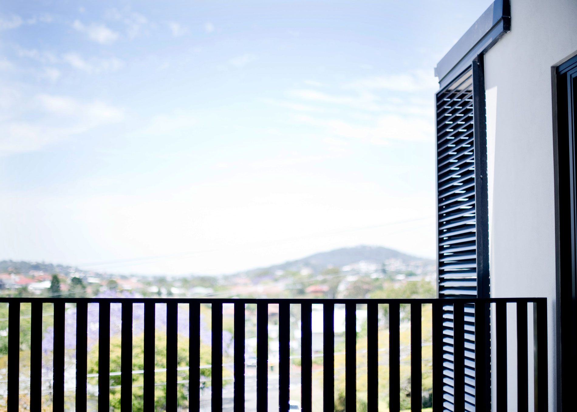 Balcony on Apex Apartments by Mosaic