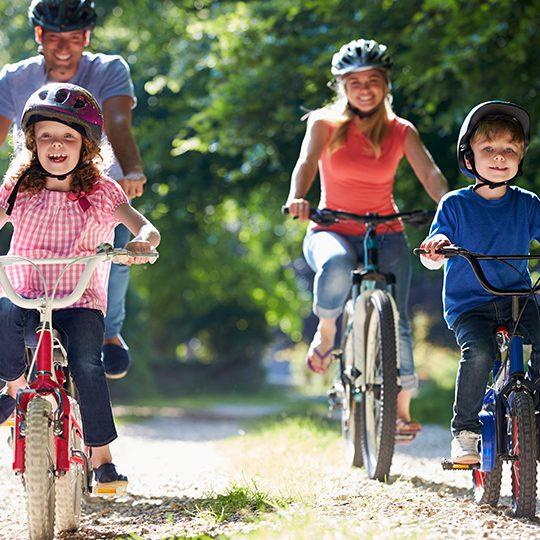 Ridesharing and Bicycle Parking
